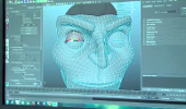screen shot of animation creation