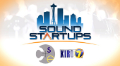 "Logo for KIRO TV's ""Sound Startup"" series"